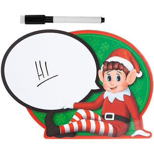Christmas Elf Wipe Board