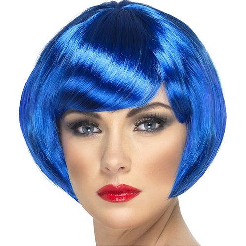 Babe Blue Ladies 1960's Bob Wig