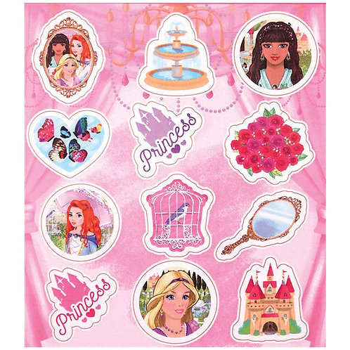 Princess Sticker Sheets