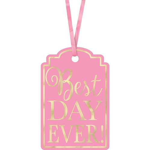 """Party Tags """"Best Day Ever"""" - Different Colours Available"""