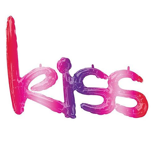 Kiss Foil Balloon