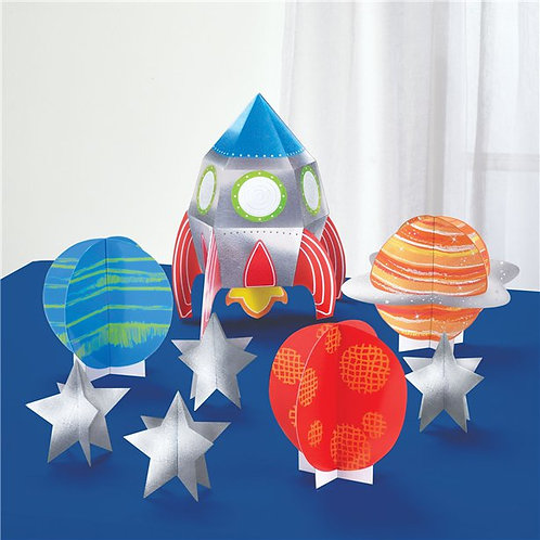 Outer Space Birthday Table Decorating Kit