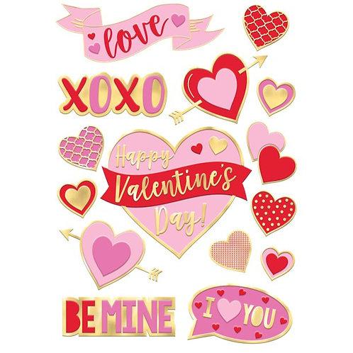 Valentine's Window Decorations