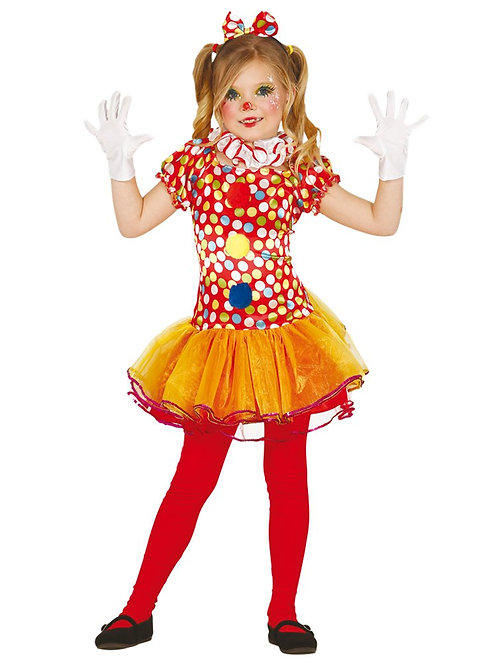 Little Clown Costume 3-4 Years Old