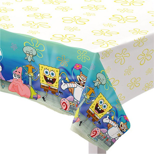 SpongeBob Party Tablecover