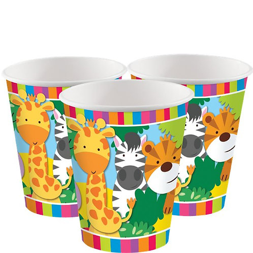 Animal Friends Paper Party Cups