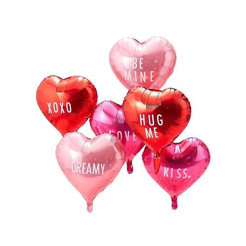 Be My Valentine Customisable Balloons