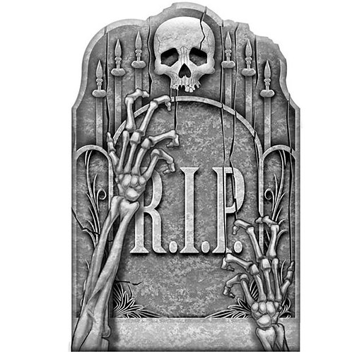 Cemetery Ghostly Arms Tombstone