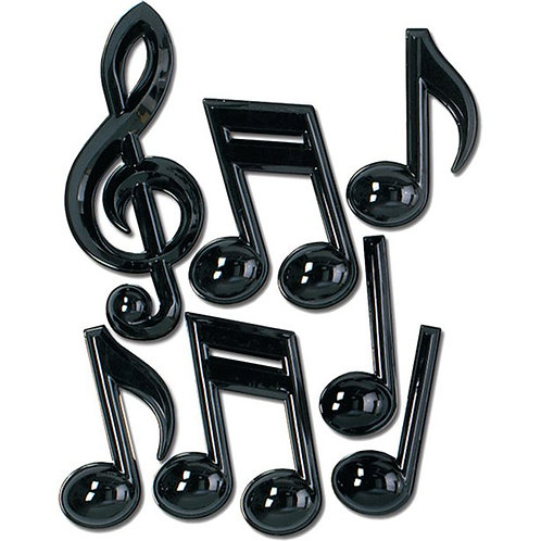 Musical Notes Party Decorations