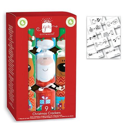 Santa & Friends Mini Crackers