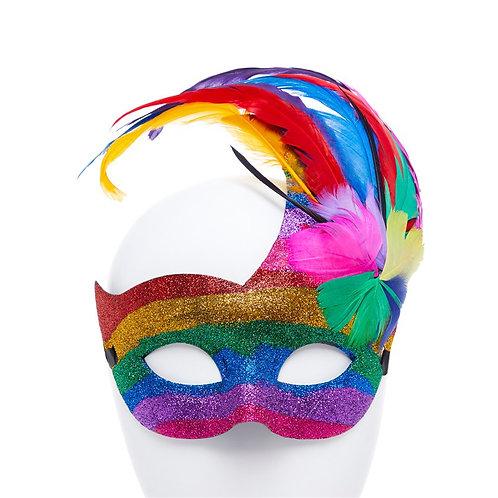 Rainbow Pride Masquerade Mask