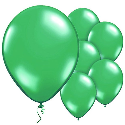 "Balloons Latex 11"" Green"