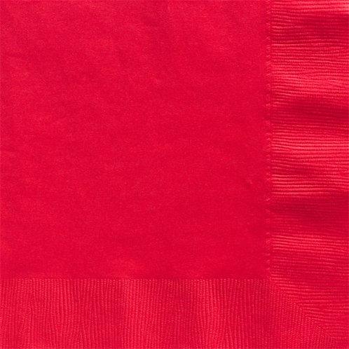 Red Paper Napkins 40cm