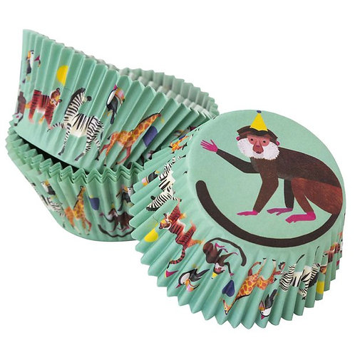 Party Animals Cake Cases