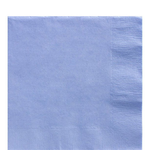 Baby Blue Party Napkins Size 33cm