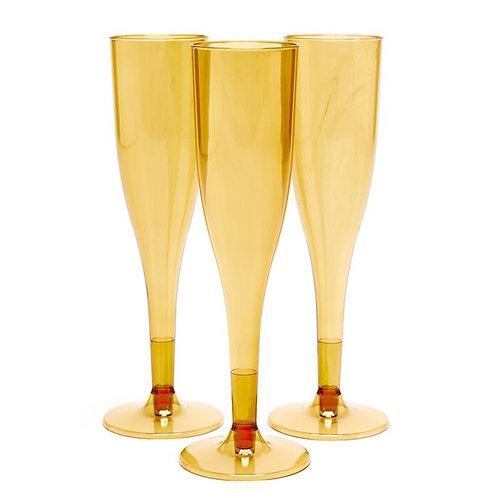 Gold Champagne Flutes