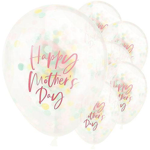 Mothers Day Confetti Balloons