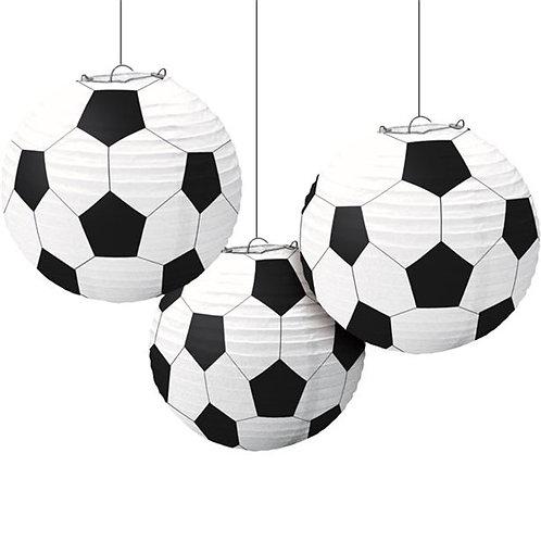 Football Paper Hanging Lanterns