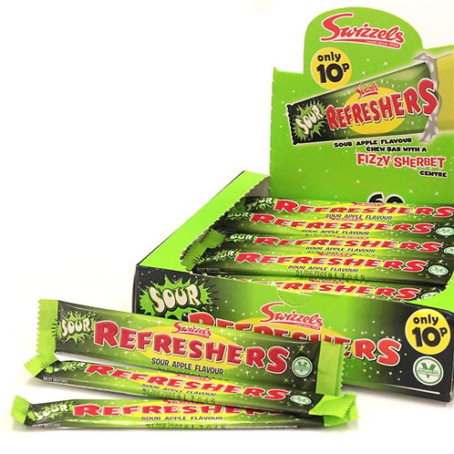 Swizzels Refreshers Sour Chew Bar Bulk Box