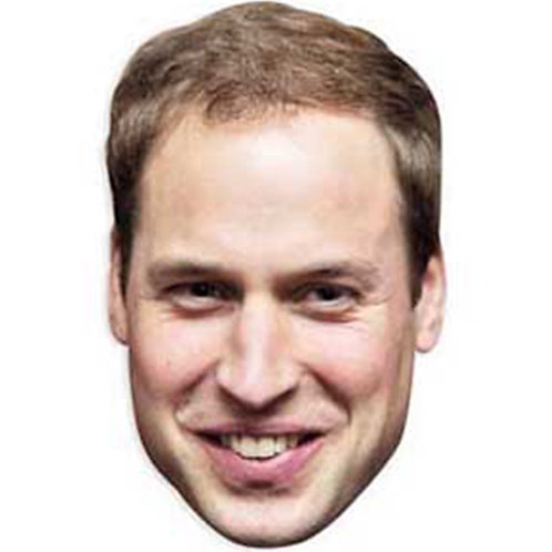 Prince William Face Mask