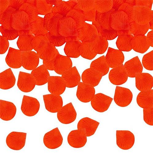 Red Rose Fabric Petals