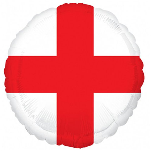 England Flag Foil Balloon