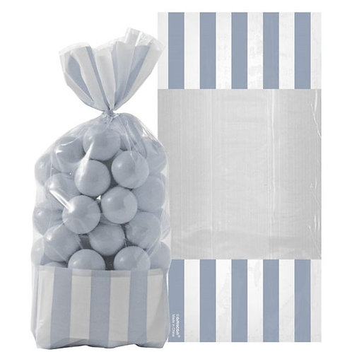 Silver Candy Cello Sweet Bags