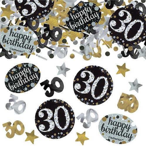 30th Birthday Sparkling Celebration Table Confetti