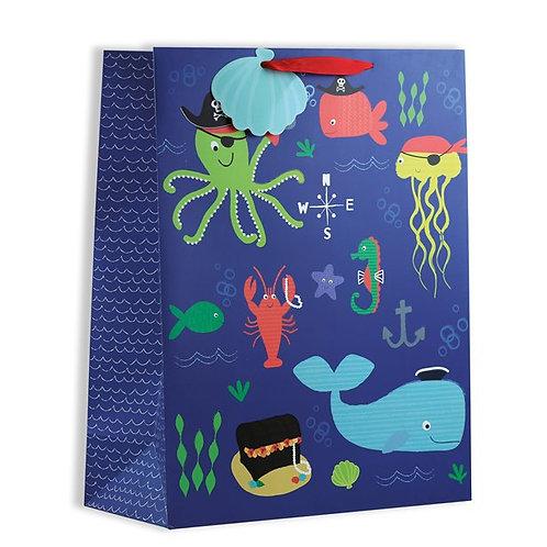 Sea Life Large Gift Bag