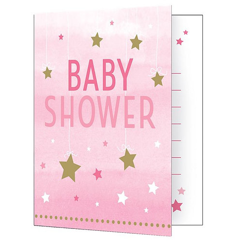Baby Shower Pink Party Invitations