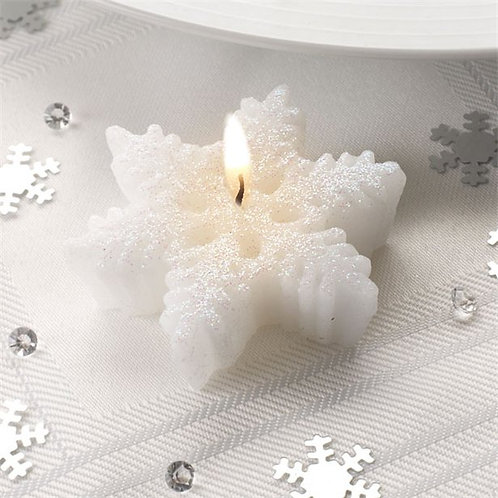 Snowflake Candles