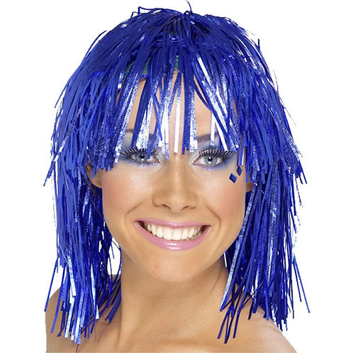 Fancy Dress Tinsel Wigs
