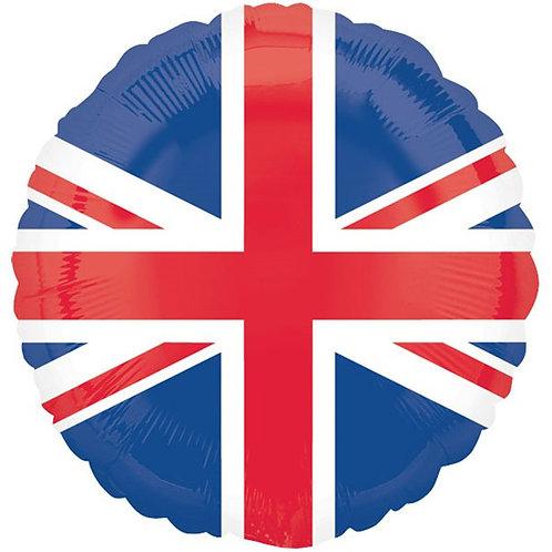 Union Jack Round Foil Balloon