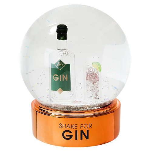 Christmas Gin Snow Globe
