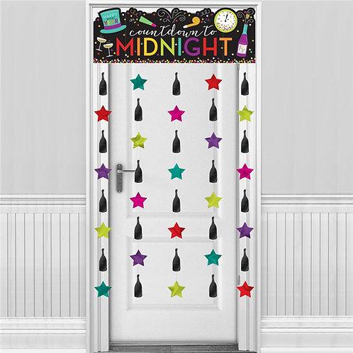 New Year's Eve Door Curtain