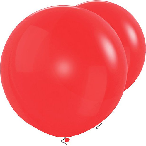 """Red 36"""" Latex Balloons"""