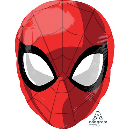 Spider Man Head Foil Balloon