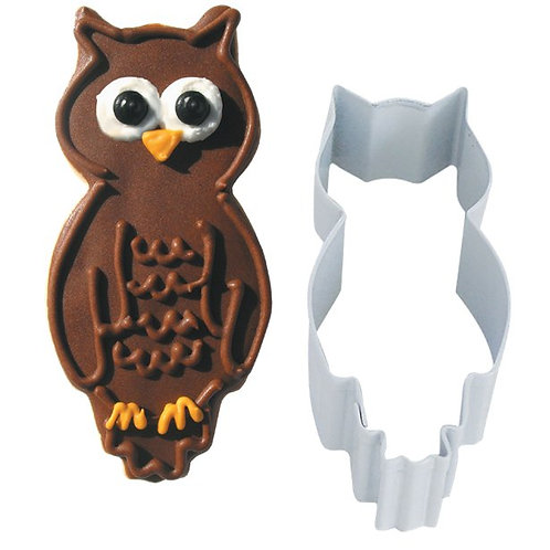 Owl Cookie Cutter Shape