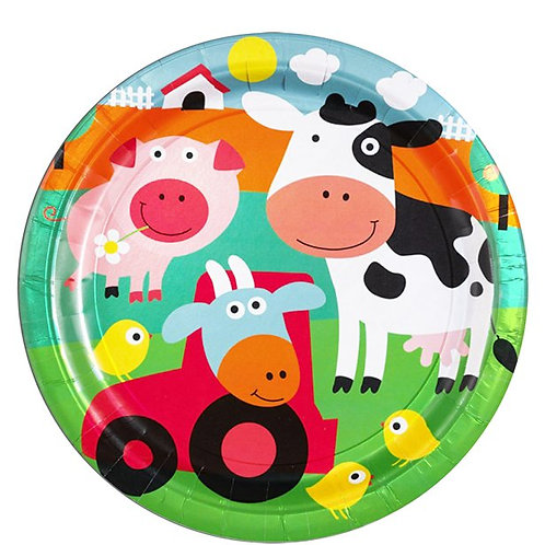 Farm Fun Party Plates