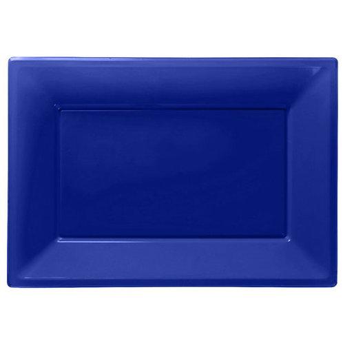 Food Serving Platter - Royal Blue