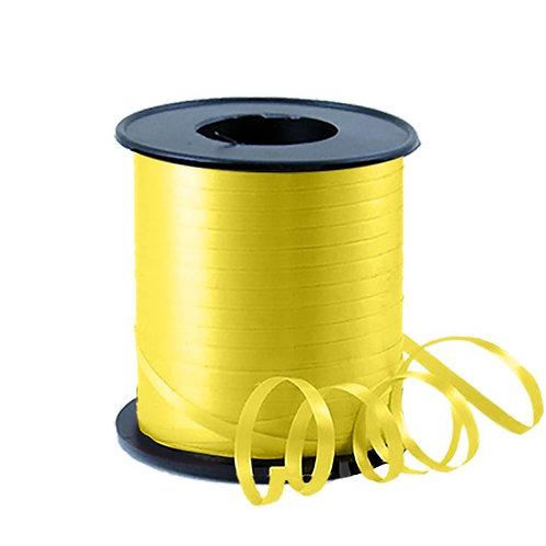 Yellow Balloon Curling Ribbon