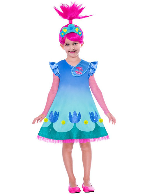 Trolls Poppy Costume 4-6 Years Old