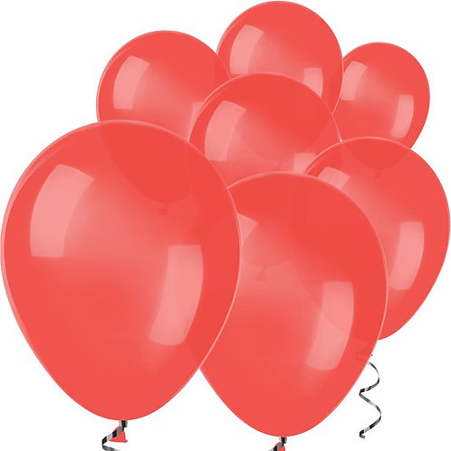 """Red Balloons Size 5"""""""