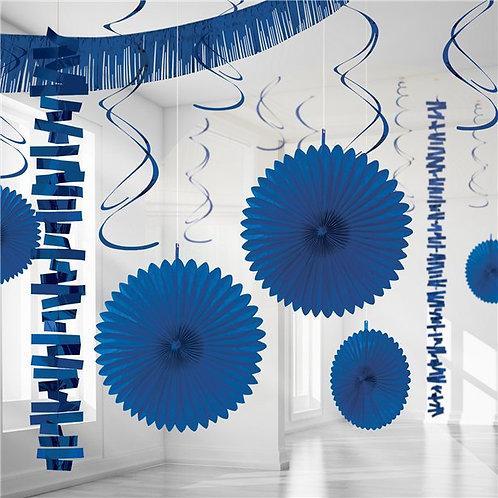 Royal Blue Party Decorating Kit
