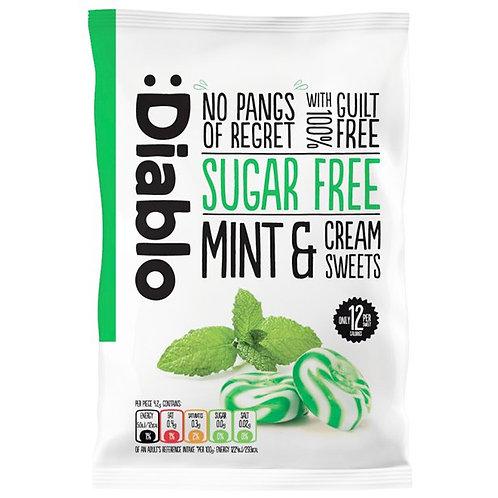 Sugar Free Mint & Cream Sweets