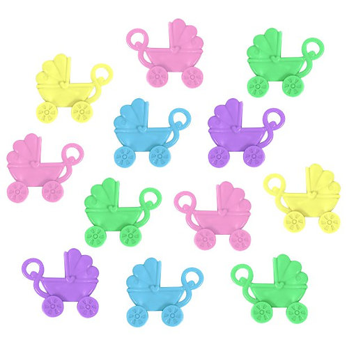 Baby Shower Favour Pram Charms