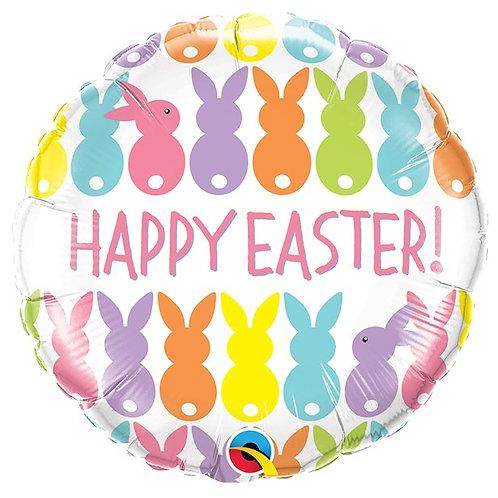 Easter Bunnies Balloon