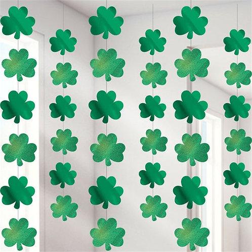 St Patrick's Day Shamrock Hanging Strings