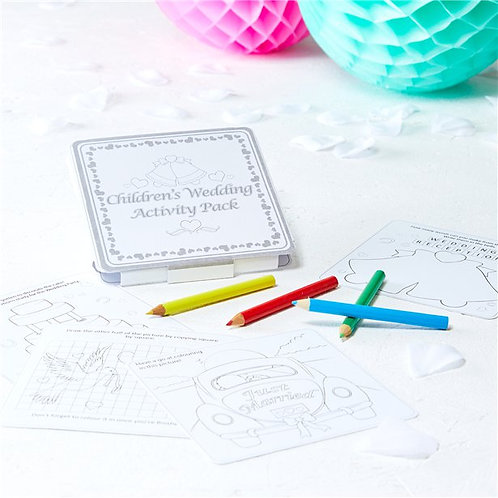 Wedding Day Children's Activity Pack x 10