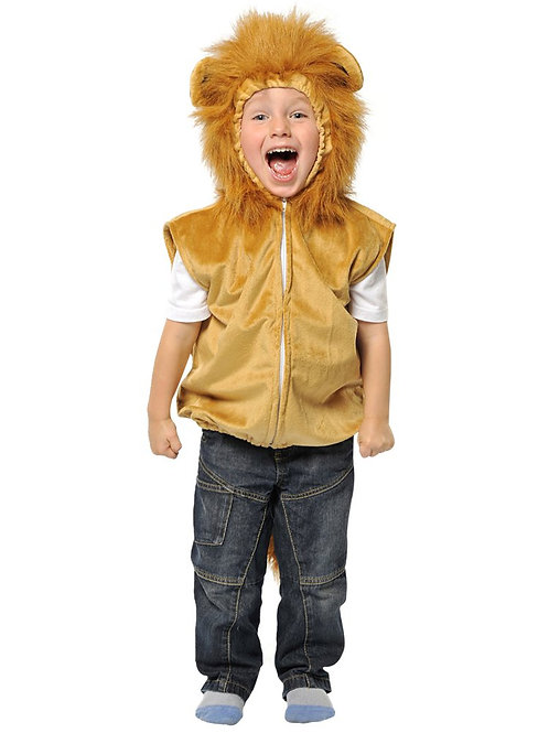 Lion Tabard Costume 3-5 Years Old